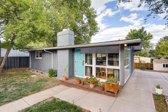 Mid century modern home for sale in harvey park a cliff for Mid century modern homes denver