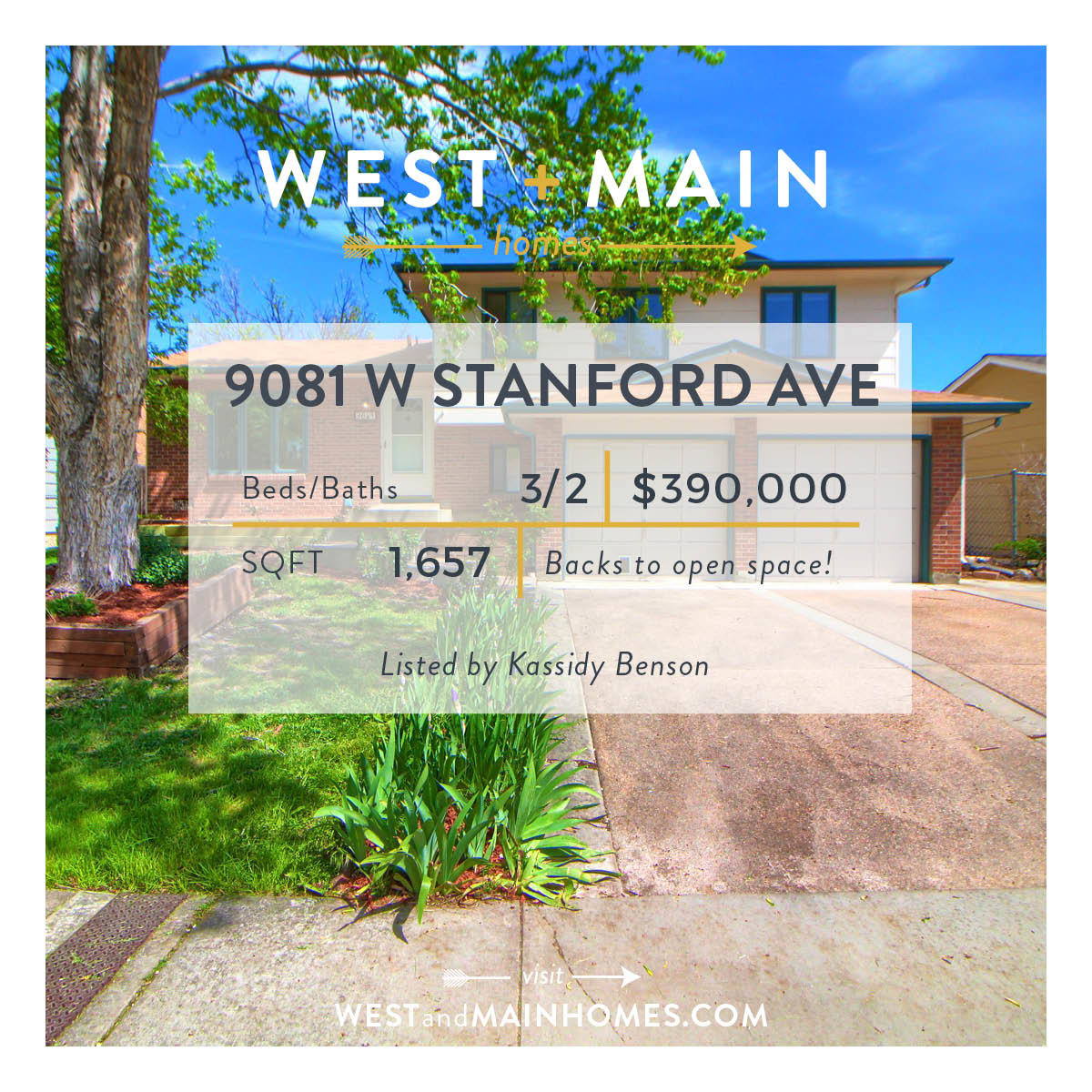 Just Listed Denver Home With Beautiful Views