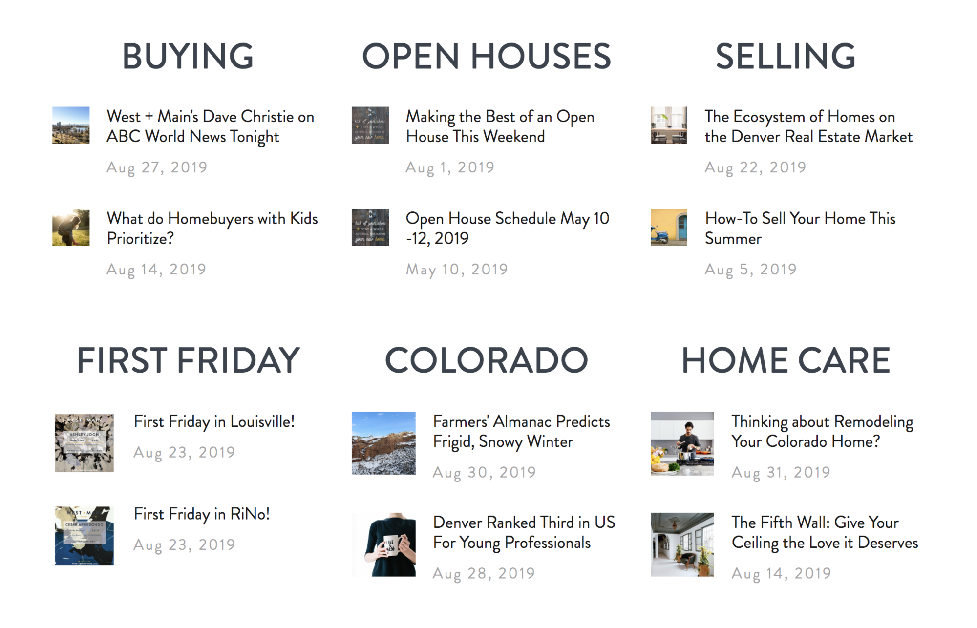 New Construction Projects and Infill Developments around Denver