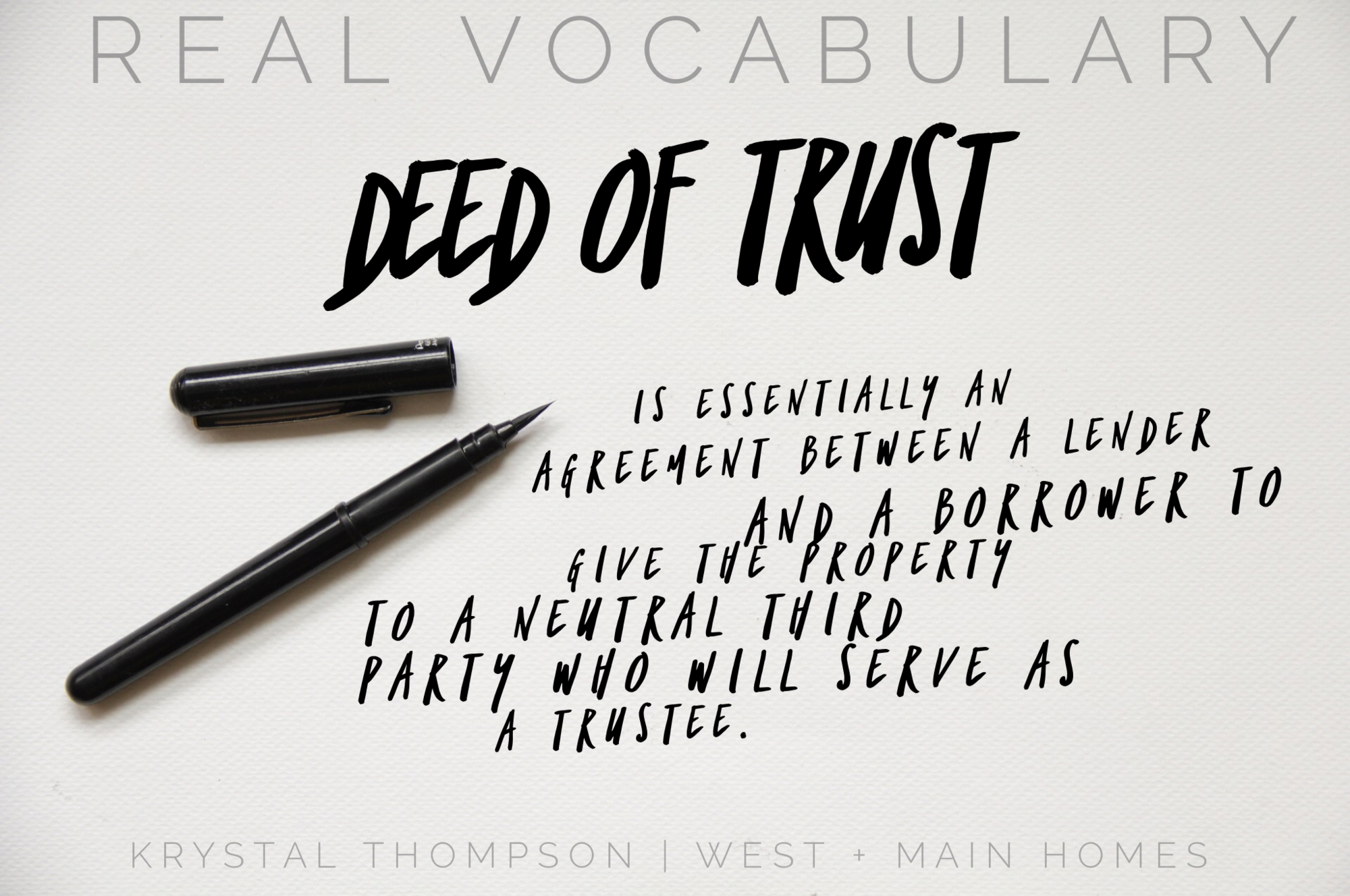 Discovering The Importance Of The Deed Of Trust